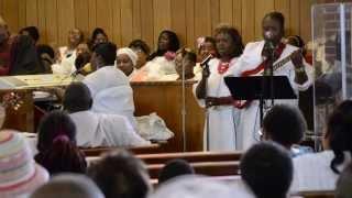 The First Baptist Church of Cherry Hill Women's Day Choir Sings