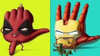 30+ Hilariously Funny SUPERHERO Comics - Marvel & DC - 32. Watch Till The End.