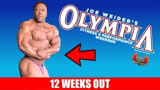 2019 Olympia Preview - 12 Weeks Out