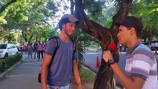 ¿Qué tanto saben los universitarios?/Entrevista en la UASD