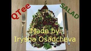 Вегетарианский салат из груш
