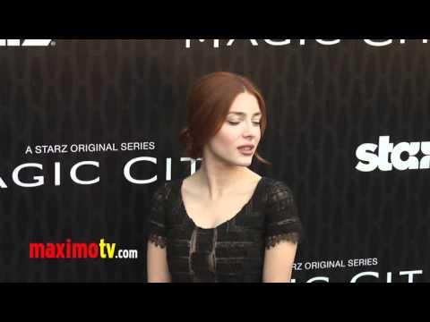 "Elena Satine STARZ ""Magic City"" Los Angeles Premiere"