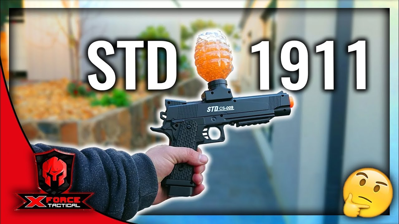 Unboxing the STD 1911 Original Gel blaster - X-Force Tactical Toy Guns &  Gel Blasters