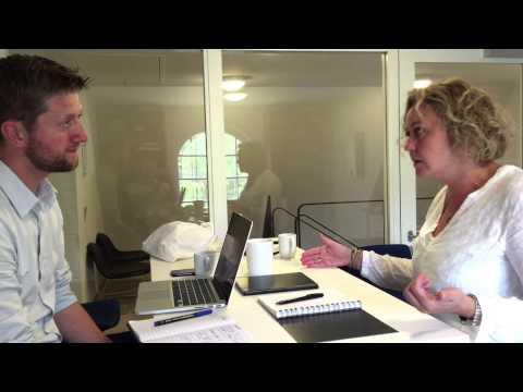 Innovationspraktik hos Dansk Design Center - Kristina fortæller