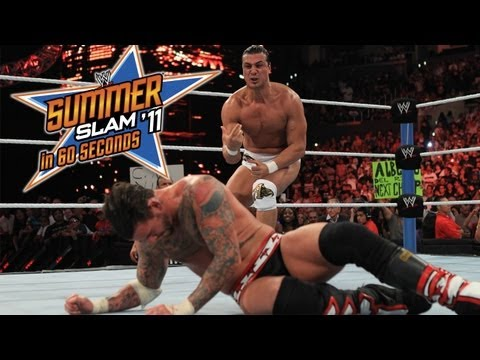 SummerSlam in 60 Seconds: SummerSlam 2011
