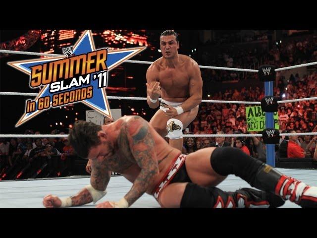 SummerSlam in 60 Seconds: SummerSlam 2011