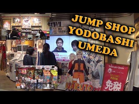 Jump Shop Yodobashi Umeda Osaka Tienda Oficial de Shueisha 2016