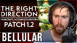 """Asmongold Reacts to """"WoW Patch 1.2: The First EVER Patch, INTRO of LFG & MAJOR Change"""" by Bellular"""