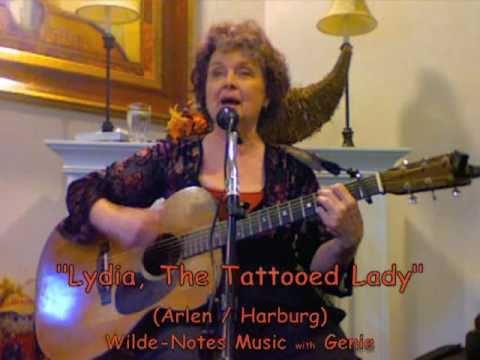 Lydia, The Tattooed Lady - lyrics - Genie at Aegis Of Lynnwood