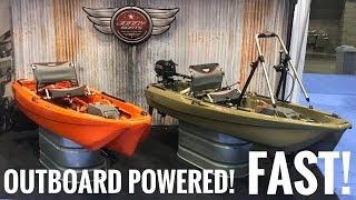 Jonny Boats Bass 100 - Gas Outboard Powered