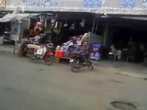 Crossing, Ibrahim Hyderi Road.