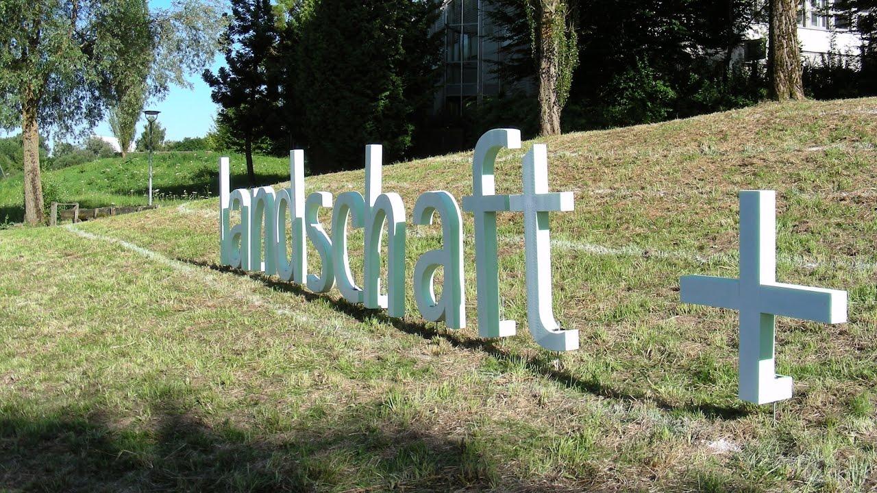 Landschaftsarchitektur München festakt 60 jahre landschaftsarchitektur und landschaftsplanung an