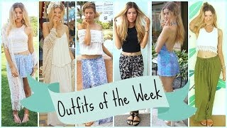 Outfits of the Week: Spring Break ☼ Caribbean Cruise