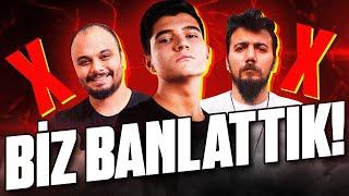 ANINDA BANLANDILAR!! EGOİST PATİ ve AMİGO'yu BANLATTIK!! | PUBG Mobile Erangel Gameplay