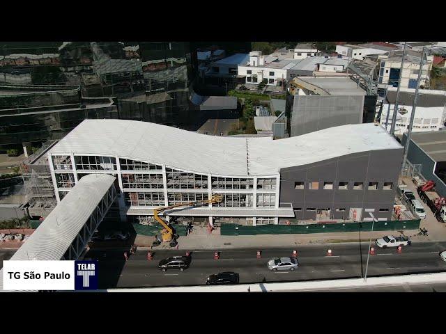 Evolução da Obra • A Futura Estação João Dias já tem aproximadamente 78% das obras concluídas