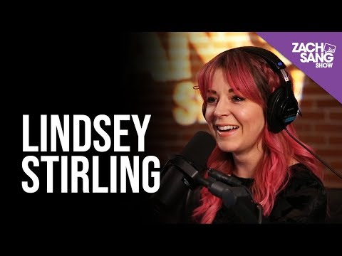 Lindsey Stirling Talks Warmer In The Winter Ed Sheeran & Evanescence