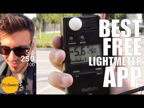 BEST FREE LIGHT METER APP (eng Sub)  | ANALOG PHOTOGRAPHY FOR DUMMIES #2