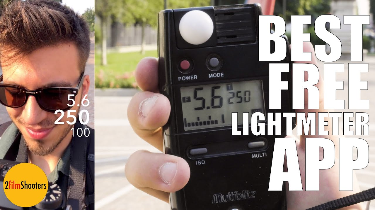 Best Free Light Meter App Eng Sub Analog Photography For Dummies 2 Youtube