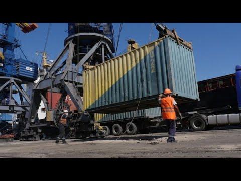 Russia's 'blockade' of Sea of Azov port angers Ukraine