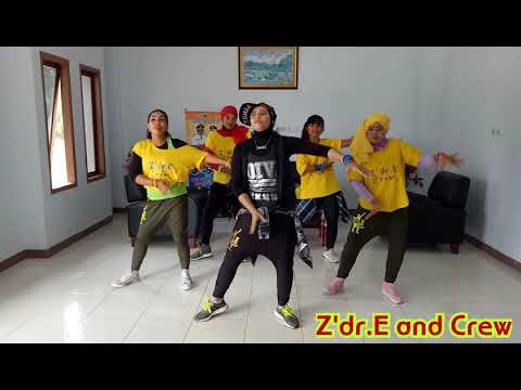 Goyang KAKA ENDA - N.G.M Remix || by Z'dr.E and Crew || Zumba Ambon || Maluku || Hut SBB
