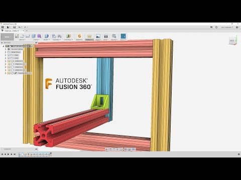 How I Would Sketch 80/20 Rails — Fusion 360 Tutorial