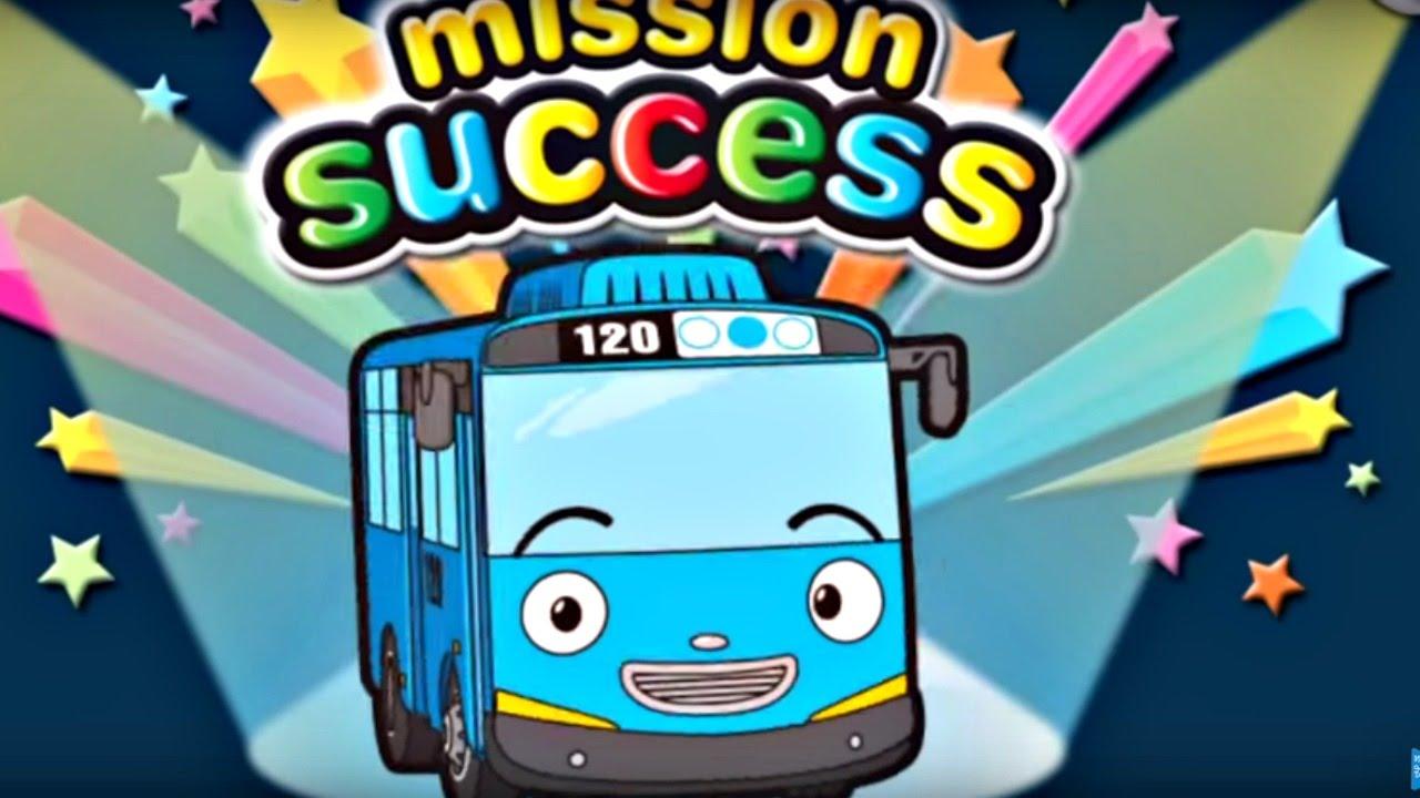 игра мультик про автобус тайо гараж развивающие игры для