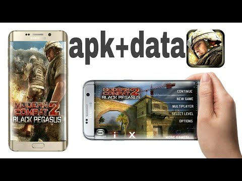 How to download modern combat 2 apk+data