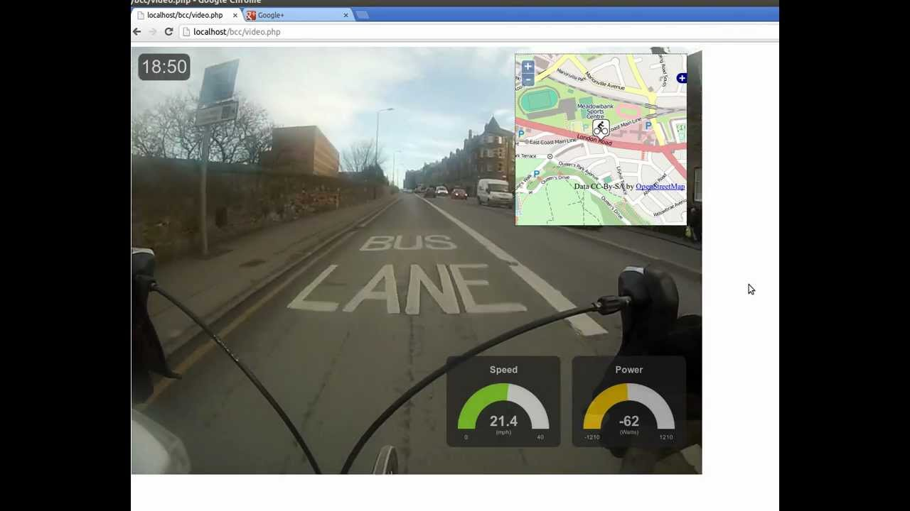 Data And Map Overlay GoPro Video Htmljavascript YouTube - Gps map data