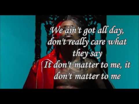 AUGUST ALSINA  Don't Matter ( lyrics)