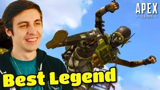 "Shroud Reacts To NEW LEGEND ""OCTANE"" on Apex Legends  