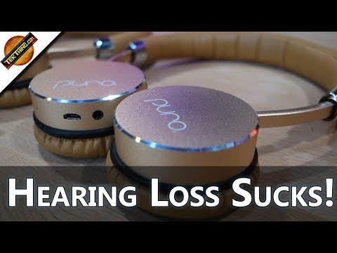 Hearing Loss Sucks: Meet Puro's BT5200 Adult Wireless Headphones. Don't Go Deaf! -- TekThing Short