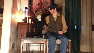 Music(episode 3) the late show with joe camel/ventiloquist show