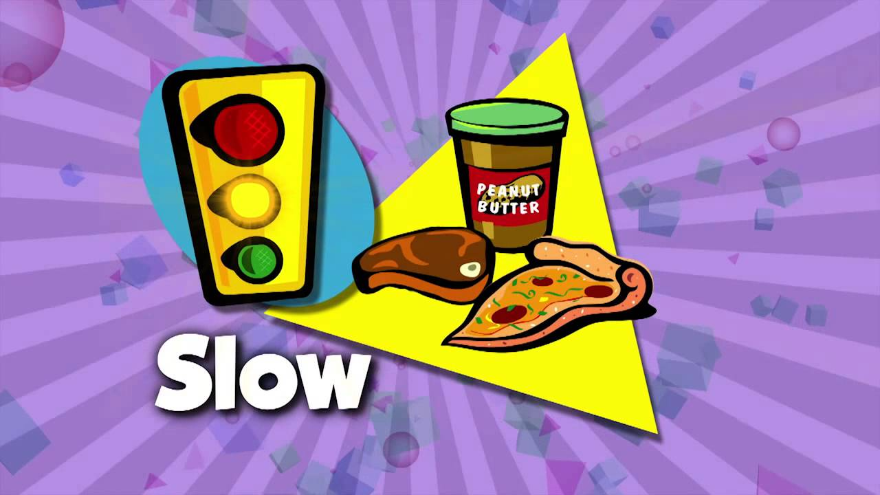 FIT KIDS 78 Go,Slow,Whoa Foods - YouTube