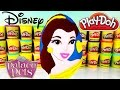 Disney Princess BELLE Play-Doh Surprise Egg! Beauty And The Beast Pop!