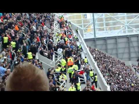 Bramble sent off   Cheer up Steve Bruce   Newcastle 5 1 Sunderland