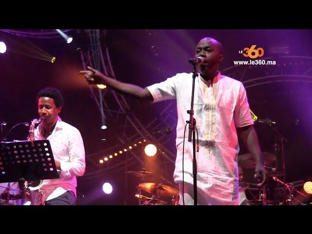 Mokhtar Samba | Woz Kaly | Le360.ma | Mawazine 2016 concert