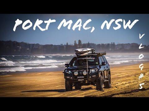 Port Macquarie's North Shore Puts On A Show - ** VLOG 5 **