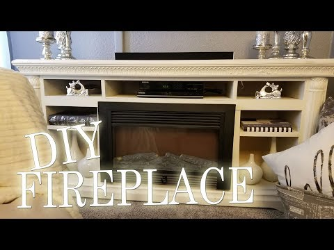 Show and Tell; #5 DIY Fireplace