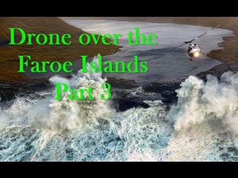 Amazing FAROE ISLANDS Part 3 - Nice airborne pictures from Gjogv in The Faroe Islands