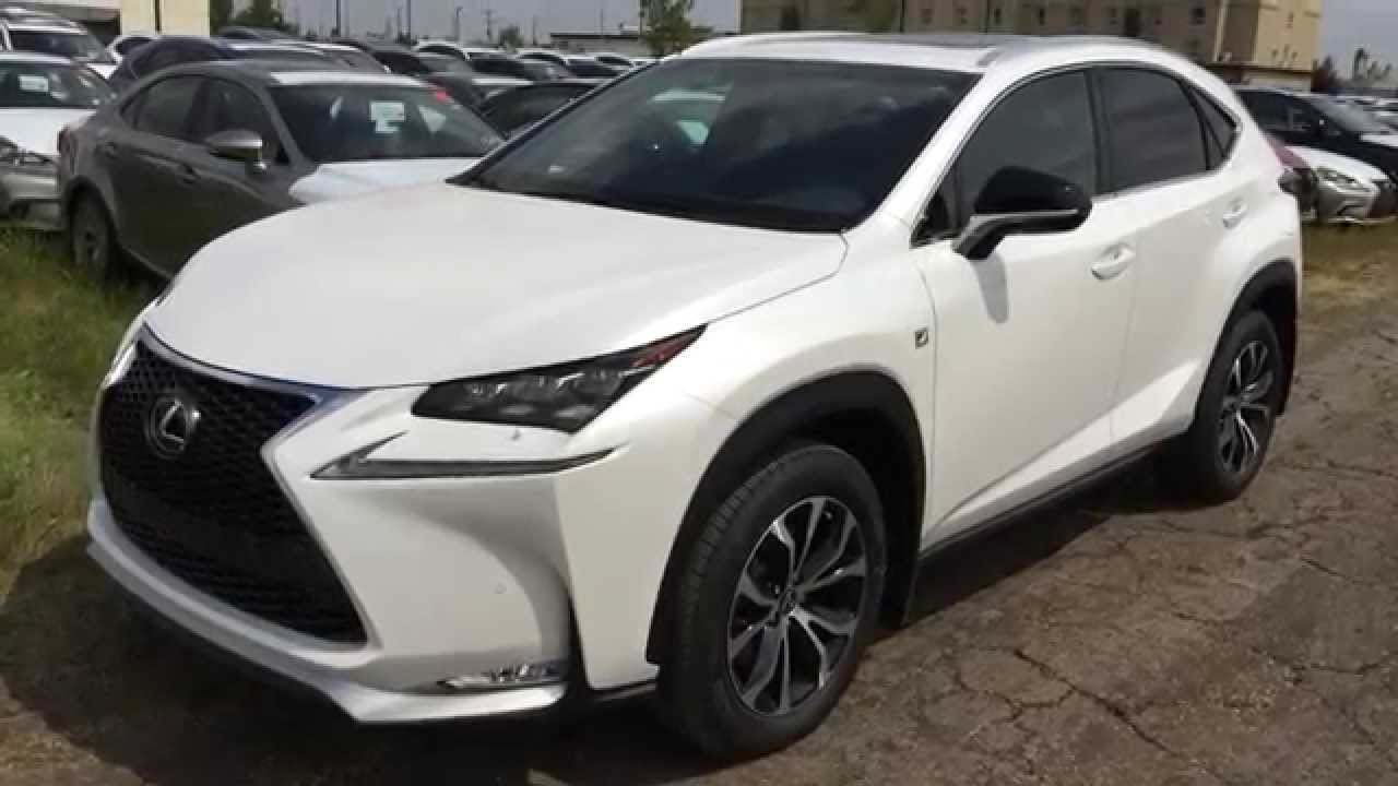 2015 lexus nx 200t awd f sport series 1 review executive demo calgary red deer ab youtube. Black Bedroom Furniture Sets. Home Design Ideas