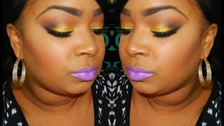 MAKEUP TUTORIAL  | Blazin Yellow!! Feat. Sugarpill Buttercupcake Thumbnail