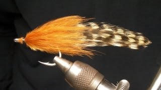 How to tie a Marabou Cockroach Tarpon Fly