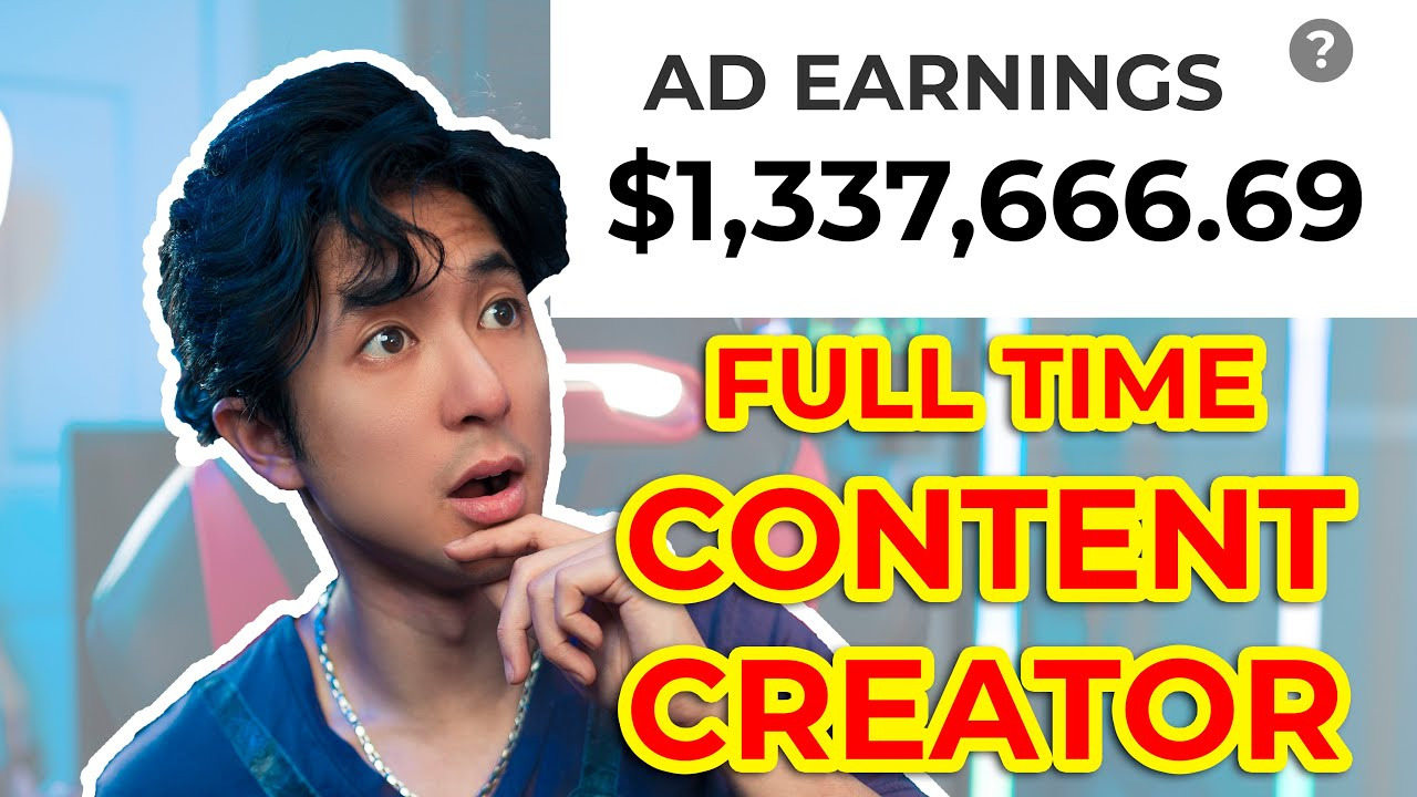 Can YOU be a FULL TIME Content Creator?