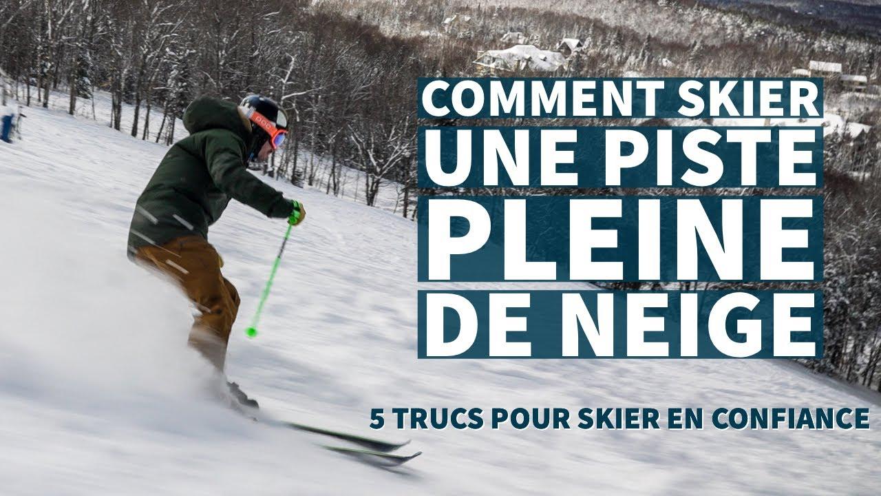 Comment skier une piste enneigée | 5 trucs faciles