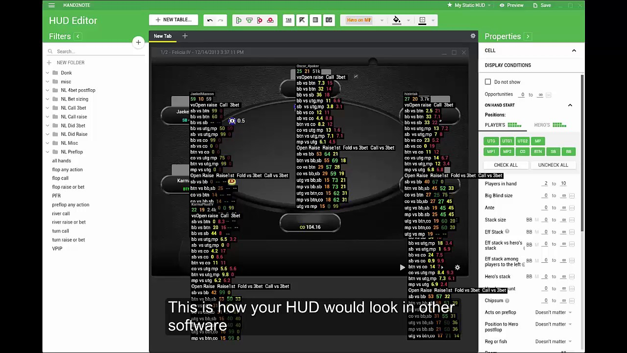 OFFICIAL Support Thread] Hand2Note - NEW alternative to Holdem
