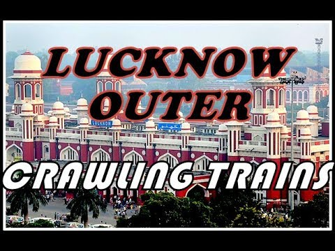 LUCKNOW NR: Crawling Trains | [24 IN 1] Compilation | Ft. Lucknow Mail & NDLS-LKO AC SF