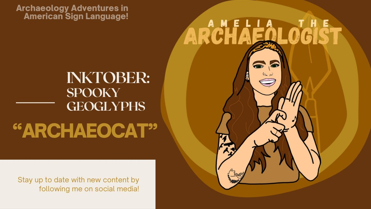 """ARCHAEOLOGY FUN FACTS: """"ARCHAEOCAT"""""""