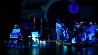 LUNAR QUARTET feat. JOHN TCHICAI + MICHELE SAMBIN in THE WHITE BALLOON  - digital painting free
