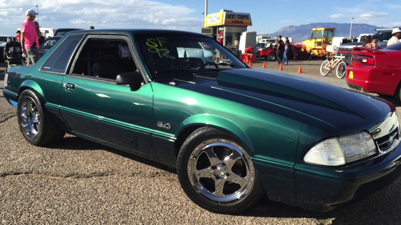 Supercharged Foxbody Mustang Notchback Youtube
