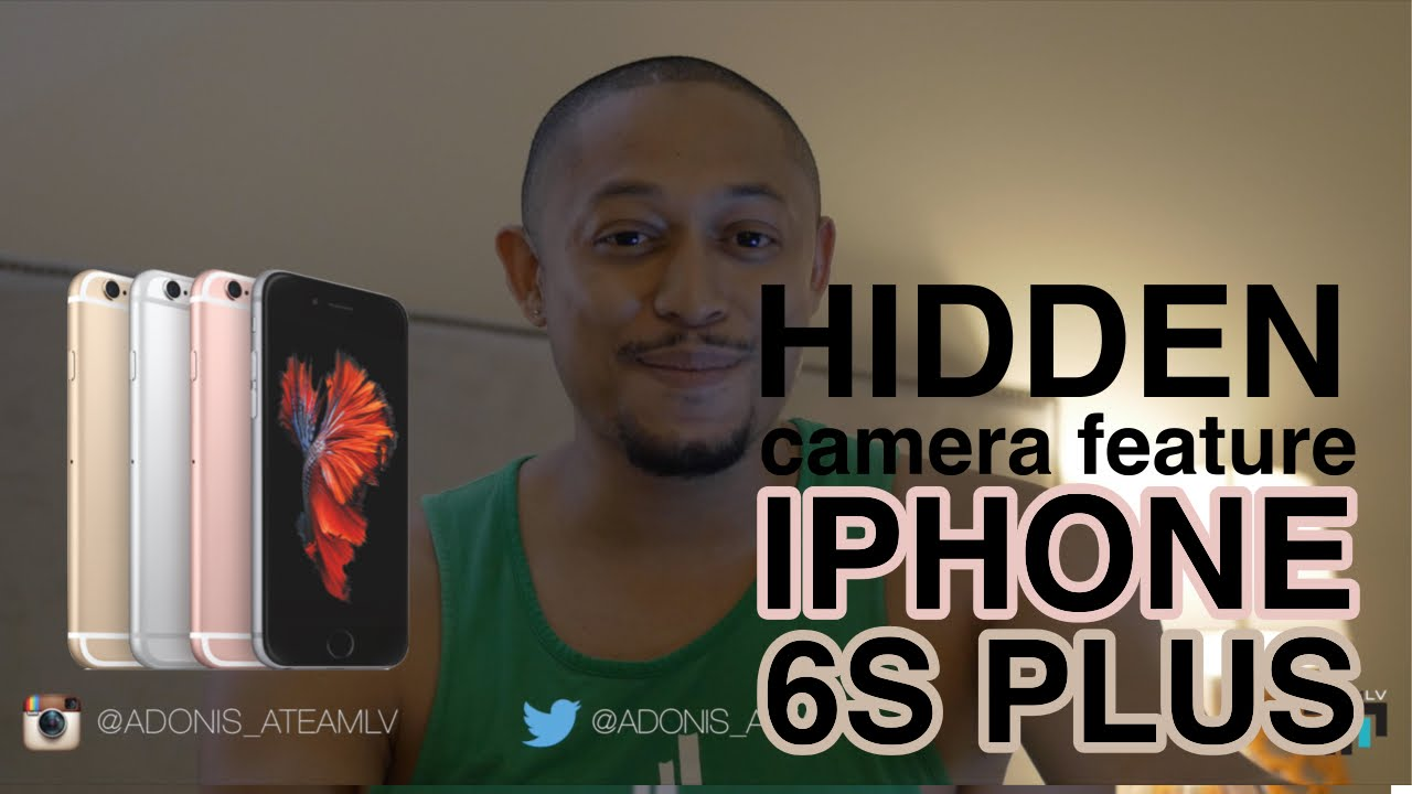 iphone 6s Plus spy camera